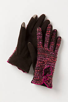 Marled Boucle Tech Gloves