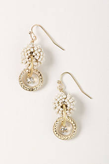 Knotted Nacre Earrings