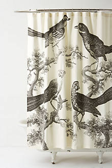 Handwoven Atticus Shower Curtain