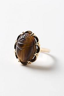 Vintage Scarab Ring
