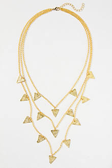 Pivoted Points Necklace