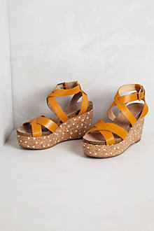 Elodie Cork Wedges