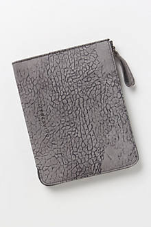 Mackerel Sky Leather iPad Case
