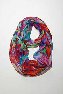 Bold Hues Infinity Scarf
