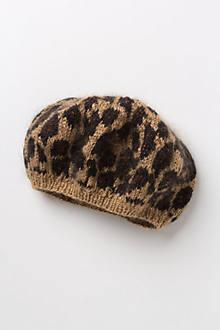 Luxe Leopard Beret