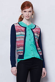 Pattern Punch Cardigan