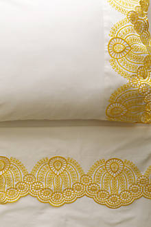 Eyelet Embroidered Sheet Set