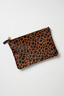 Serengeti Calf-Hair Pouch