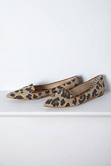 Gauloise Pointed Loafers