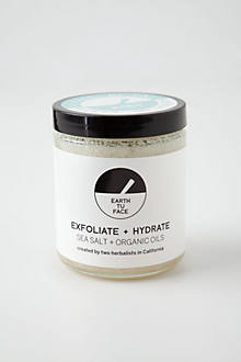 Earth Tu Face Organic Oils & Sea Salt Scrub