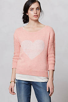 Heart Intarsia Sweater