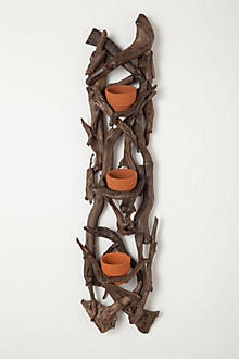 Terracotta Trio Wall Planter