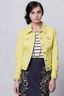 Pilcro Colored Denim Jacket