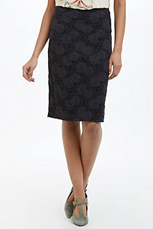Alva Lace Pencil Skirt