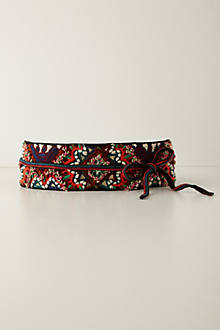 Tobe Embroidered Belt