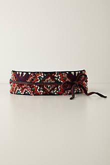 Tobe Embroidered Belt