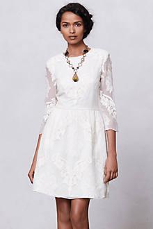 Slim-Glint Lace Dress