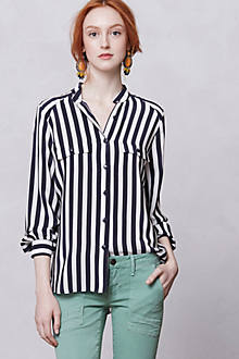 Anni Striped Buttondown