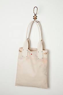 Spattered Canvas Tote