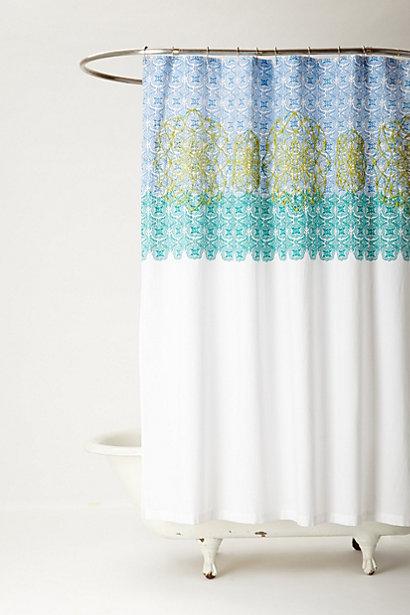 Sun Medallion Shower Curtain