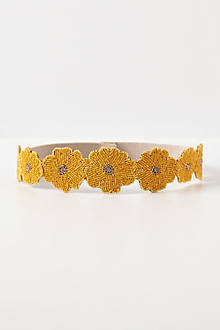 Beaded Daisy Belt