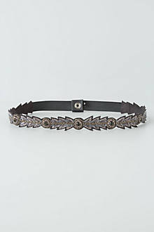 Strung & Studded Stretch Belt