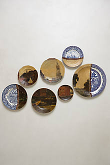 Dutch Bell Tower Plate Collage