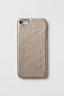 Metallic Leather iPhone 5 Case