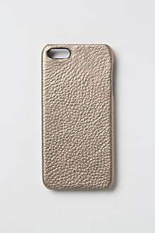 Metallic Leather iPhone 5 Case