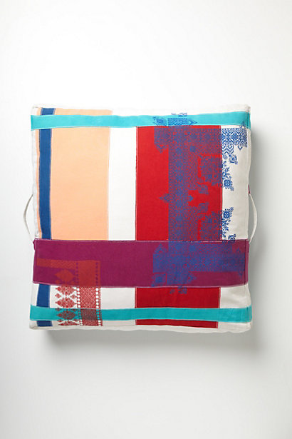Fathom Floor Pillow - anthropologie.com