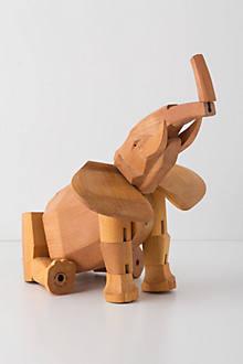 Hattie The Elephant Wooden Toy