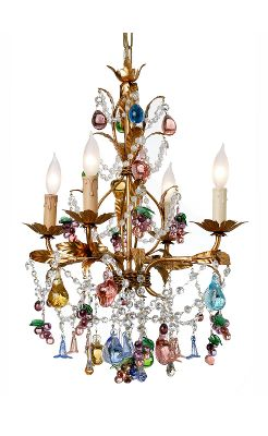Venetian Glass Fruit Chandelier - Anthropologie.com