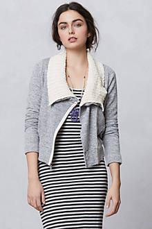 Sweaterknit Moto Zip-Up