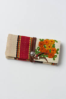 Marfa Embroidered Clutch