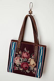 Vintage Needlework Tote