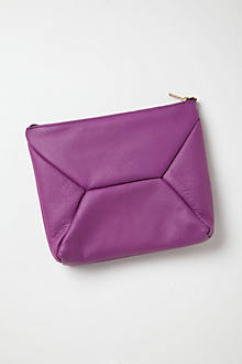 Alonzo Leather Clutch