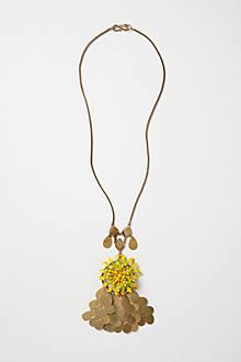 Coin Cascade Pendant Necklace