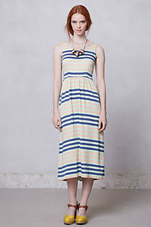 Spring Stripe Midi Dress