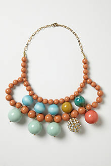 Primary Spheres Bib Necklace