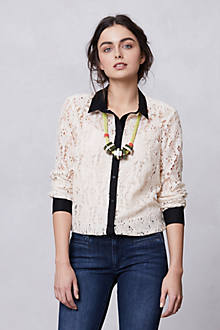Gemma Lace Buttondown