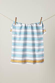 Jacquard Stripe Dishtowel