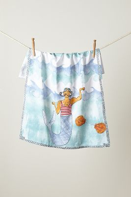 Merfolk Dishtowel