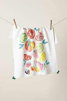Green Grocer Dishtowel