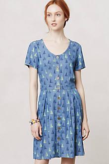 Topsail Chambray Shirt Dress