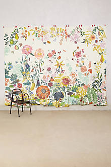 Great meadow mural for Anthropologie wall mural