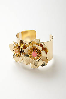 Unfurling Flower Cuff