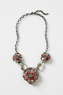 Smoky Florets Necklace