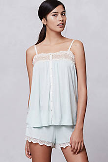 Peppermint Lace Camisole