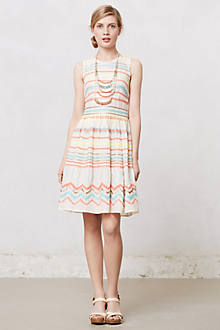 Sunglow Stripes Dress