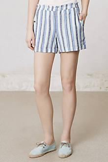 Beach Umbrella Linen Shorts